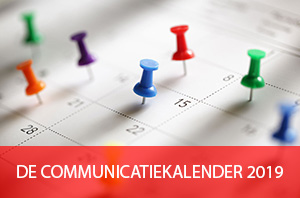 COMMUNICATIEKALENDER 2019
